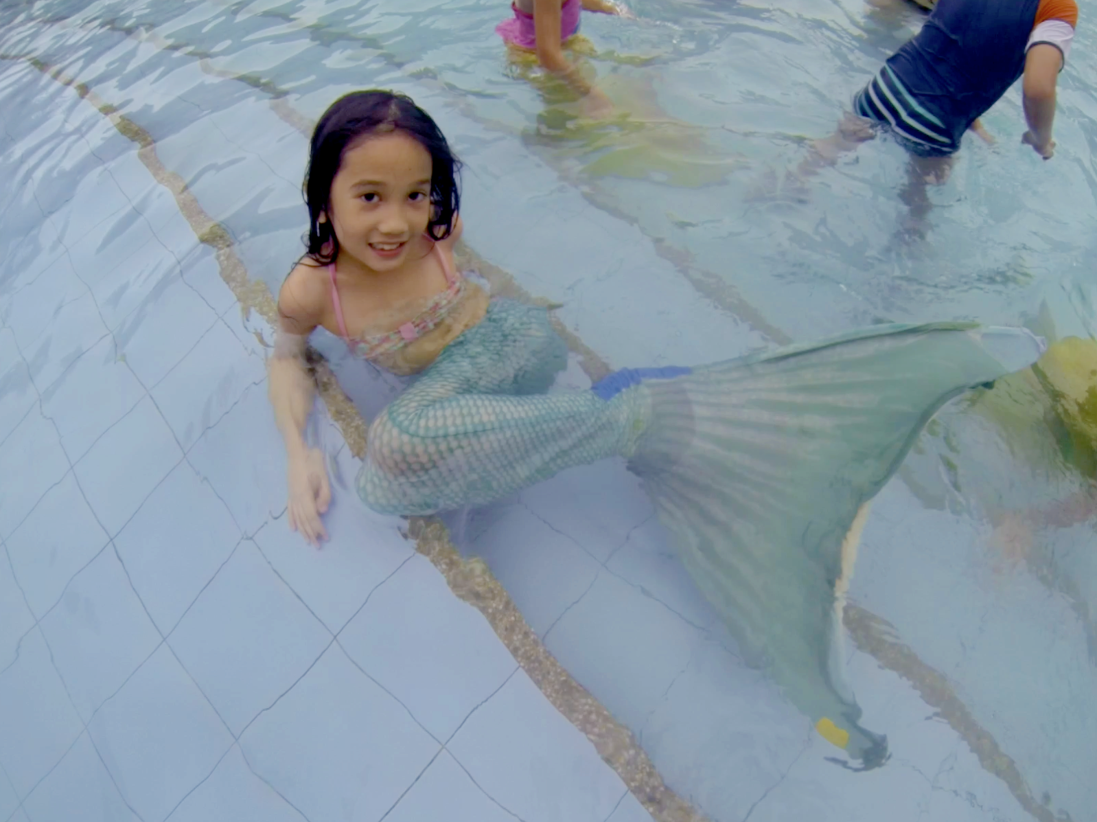 how to turn yourself into a mermaid